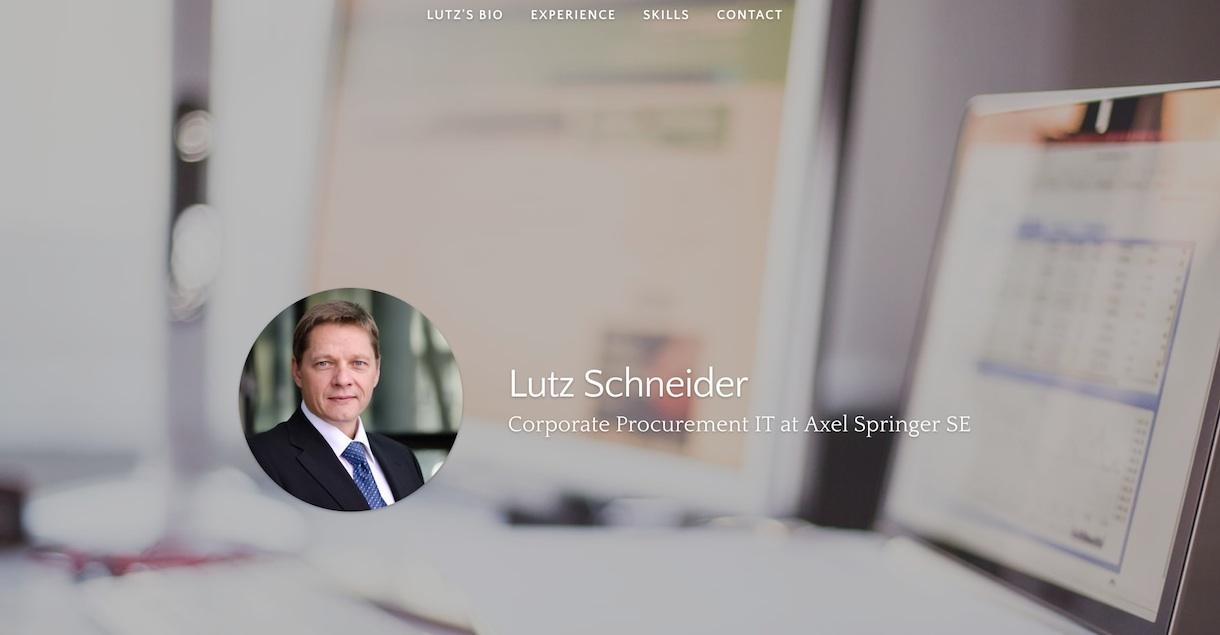 Lutz Schneider